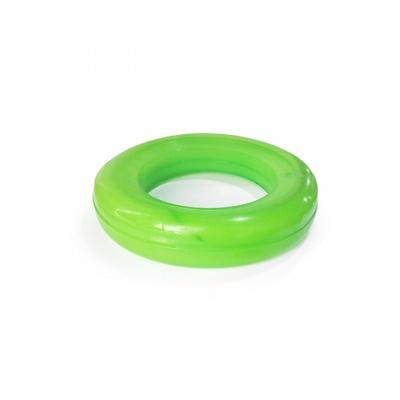 新款绿色聚氨酯实心轮子 中联重科扫路车实心胎外径230mm